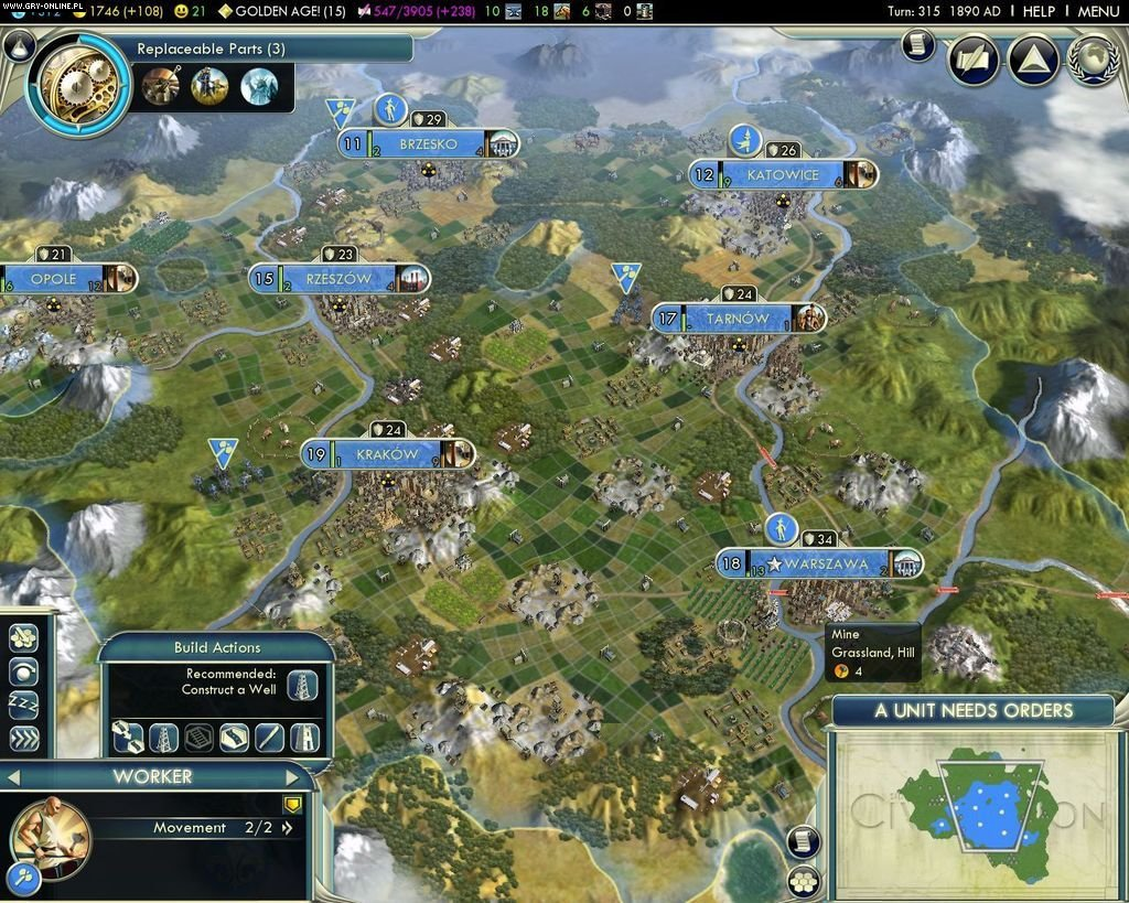 Sid Meier's Civilization V PC Gry Screen 5/44, Firaxis Games, Take 2 Interactive