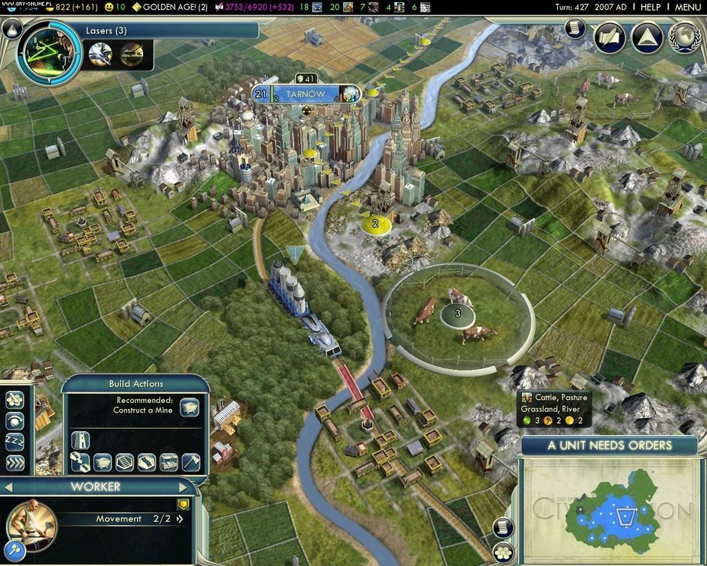 Sid Meier's Civilization V PC Gry Screen 4/44, Firaxis Games, Take 2 Interactive