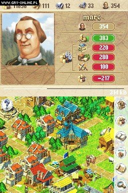 Anno 1701 NDS Gry Screen 1/62, Related Designs, Deep Silver / Koch Media