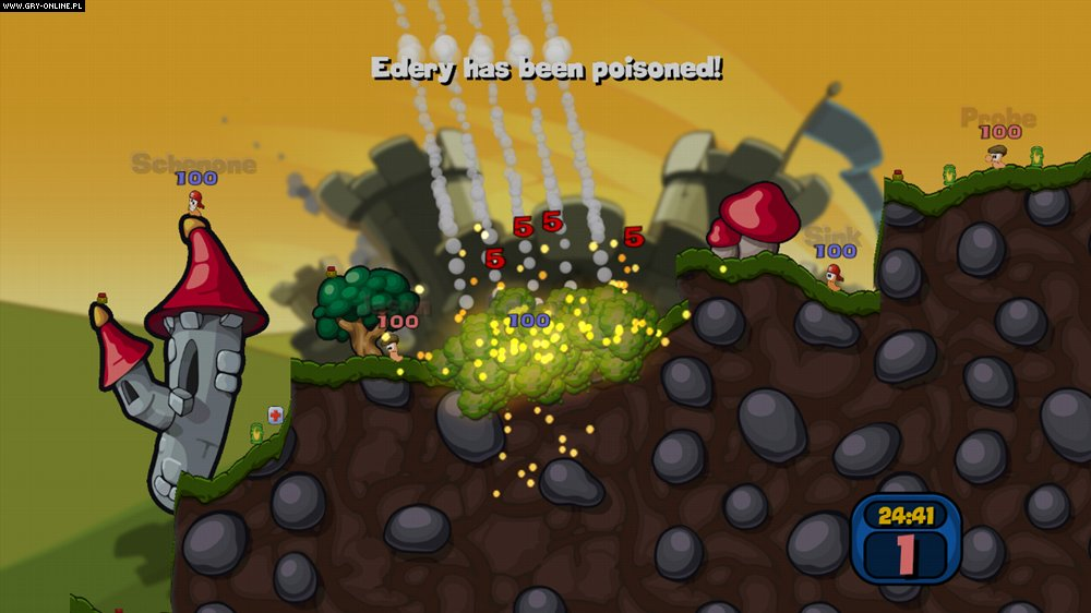 Worms 2: Armageddon PS3 Gry Screen 45/98, Team 17
