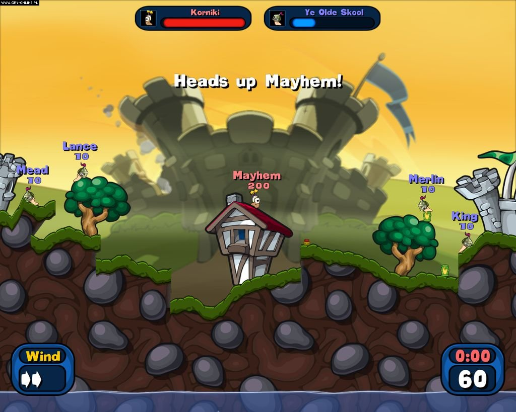 Worms 2: Armageddon PC Gry Screen 63/98, Team 17
