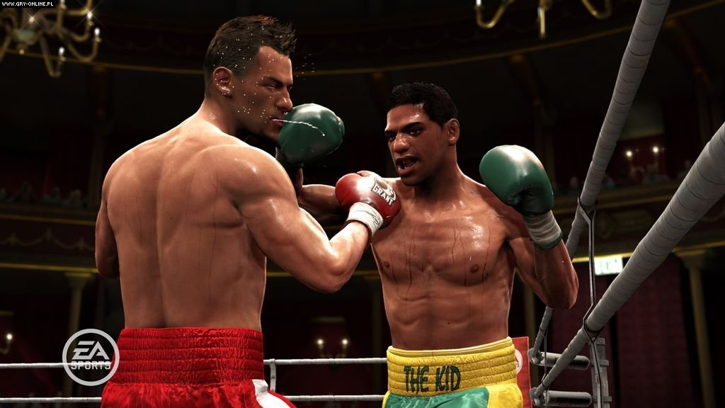 Fight Night Round 4 X360 Gry Screen 54/164, EA Sports, Electronic Arts Inc.