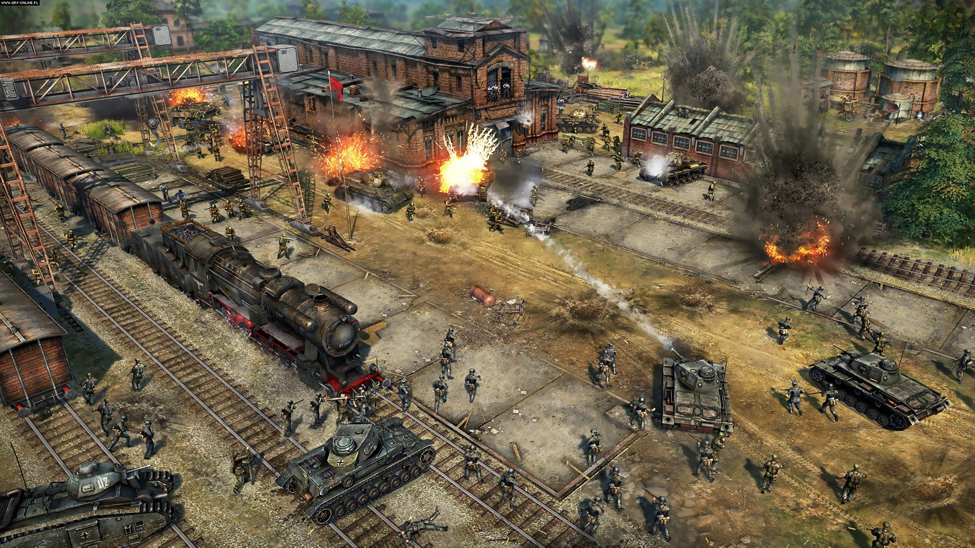 Blitzkrieg 3 PC Gry Screen 1/25, Nival