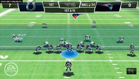 Madden NFL 10 PSP Gry Screen 2/273, EA Sports, Electronic Arts Inc.