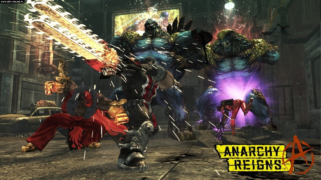 Anarchy Reigns X360 Gry Screen 44/82, PlatinumGames, SEGA