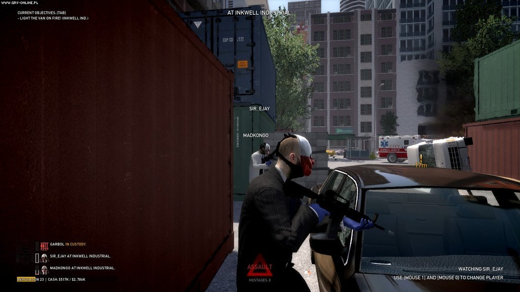 PayDay: The Heist PC, PS3 Gry Screen 13/70, OVERKILL Software, Daybreak Game Company / Sony Online Entertainment
