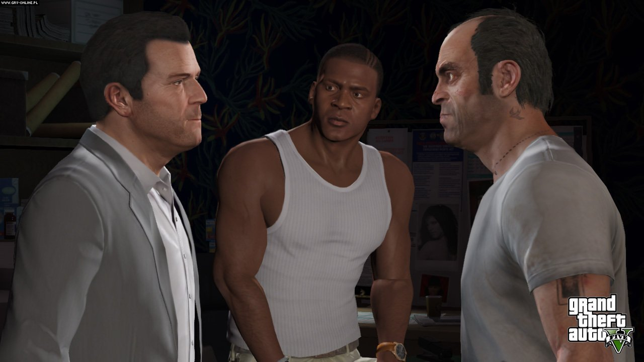 Grand Theft Auto V PC, X360, PS3 Gry Screen 214/396, Rockstar Games