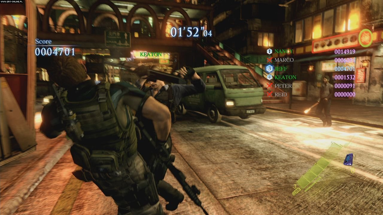 Resident Evil 6 PC, X360, PS3 Gry Screen 77/237, Capcom