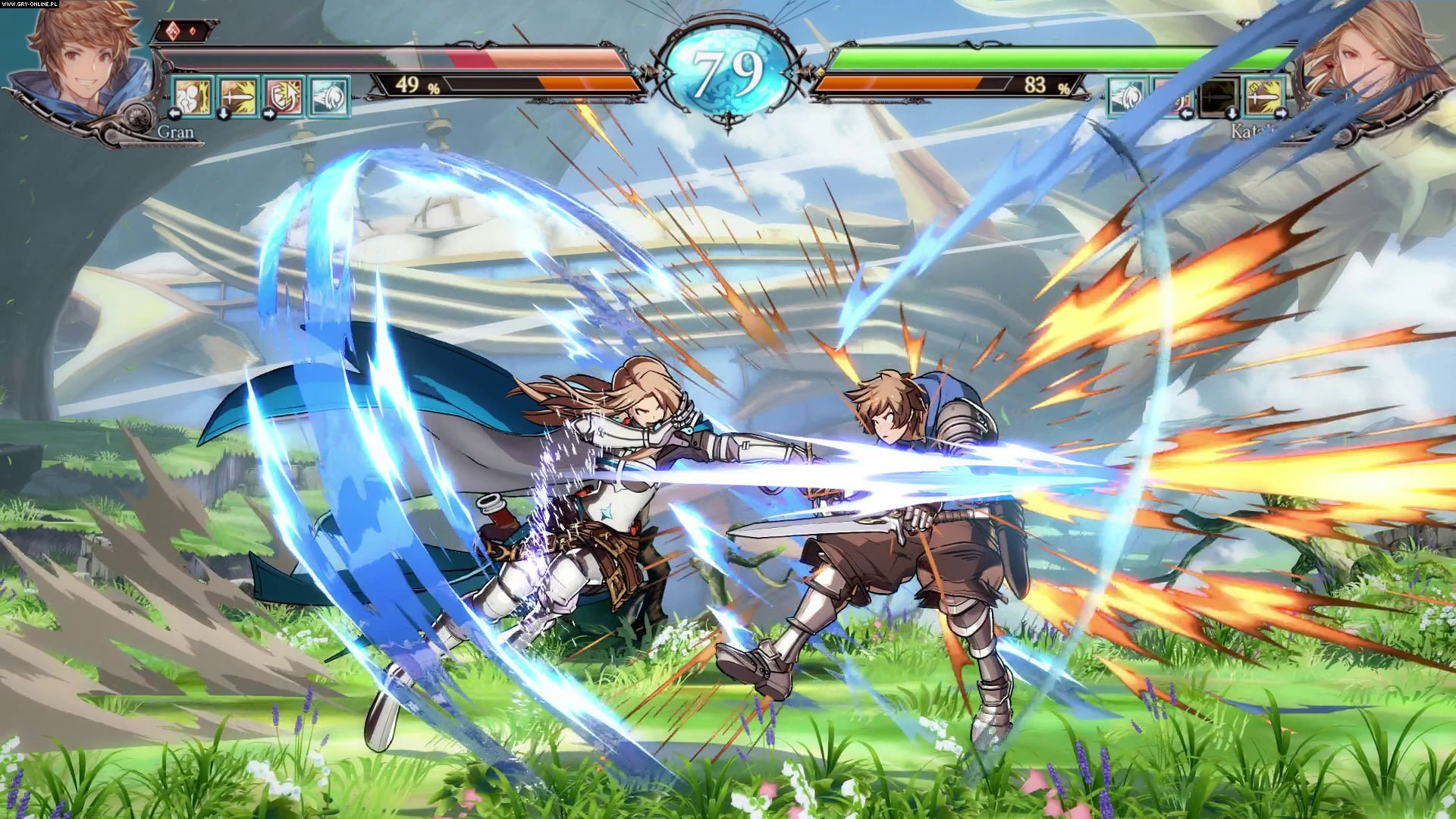Granblue Fantasy Versus PC, PS4 Gry Screen 31/93, Arc System Works, Cygames