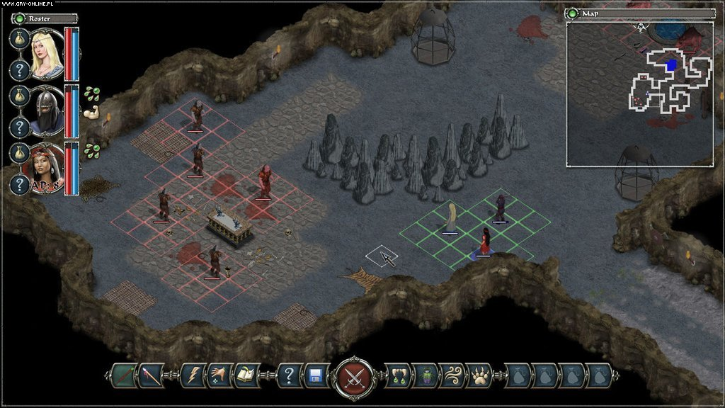 Avadon: The Black Fortress PC Gry Screen 5/6, Spiderweb