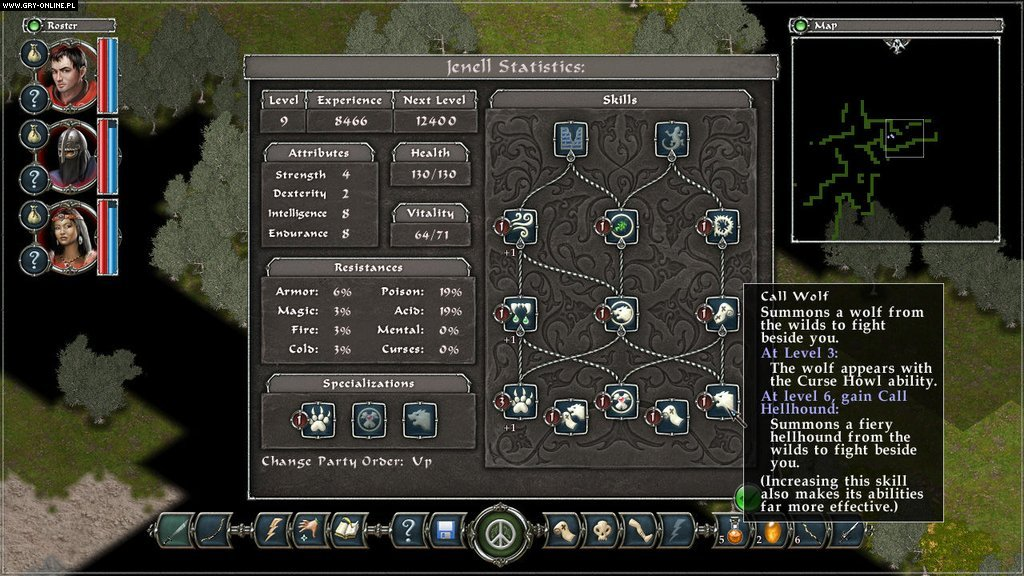 Avadon: The Black Fortress PC Gry Screen 2/6, Spiderweb