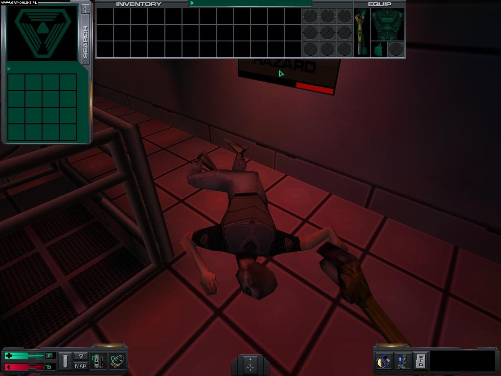 System Shock 2 PC Gry Screen 9/9, Irrational Games, Electronic Arts Inc.