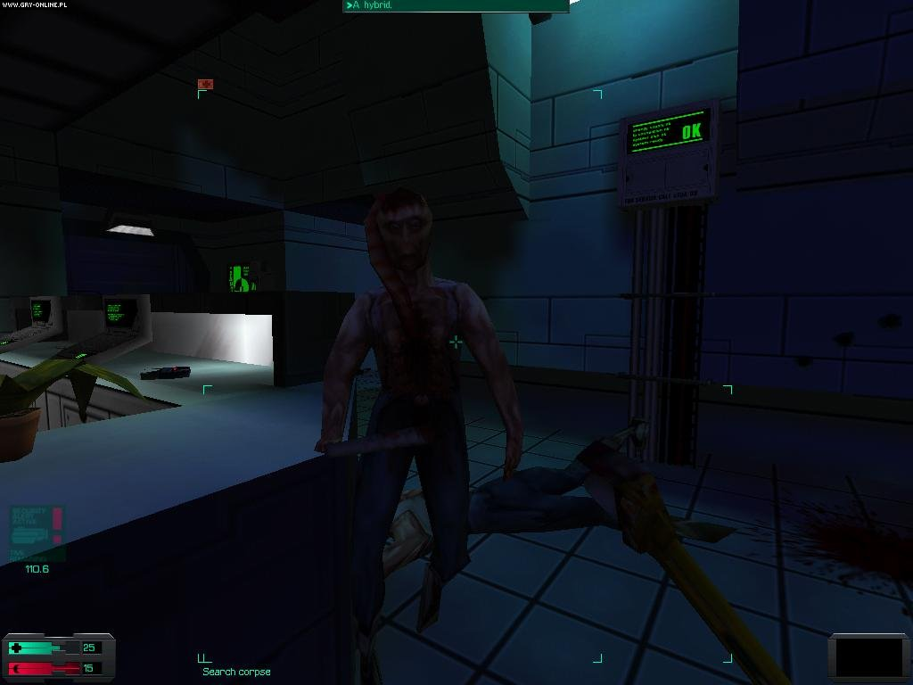 System Shock 2 PC Gry Screen 6/9, Irrational Games, Electronic Arts Inc.