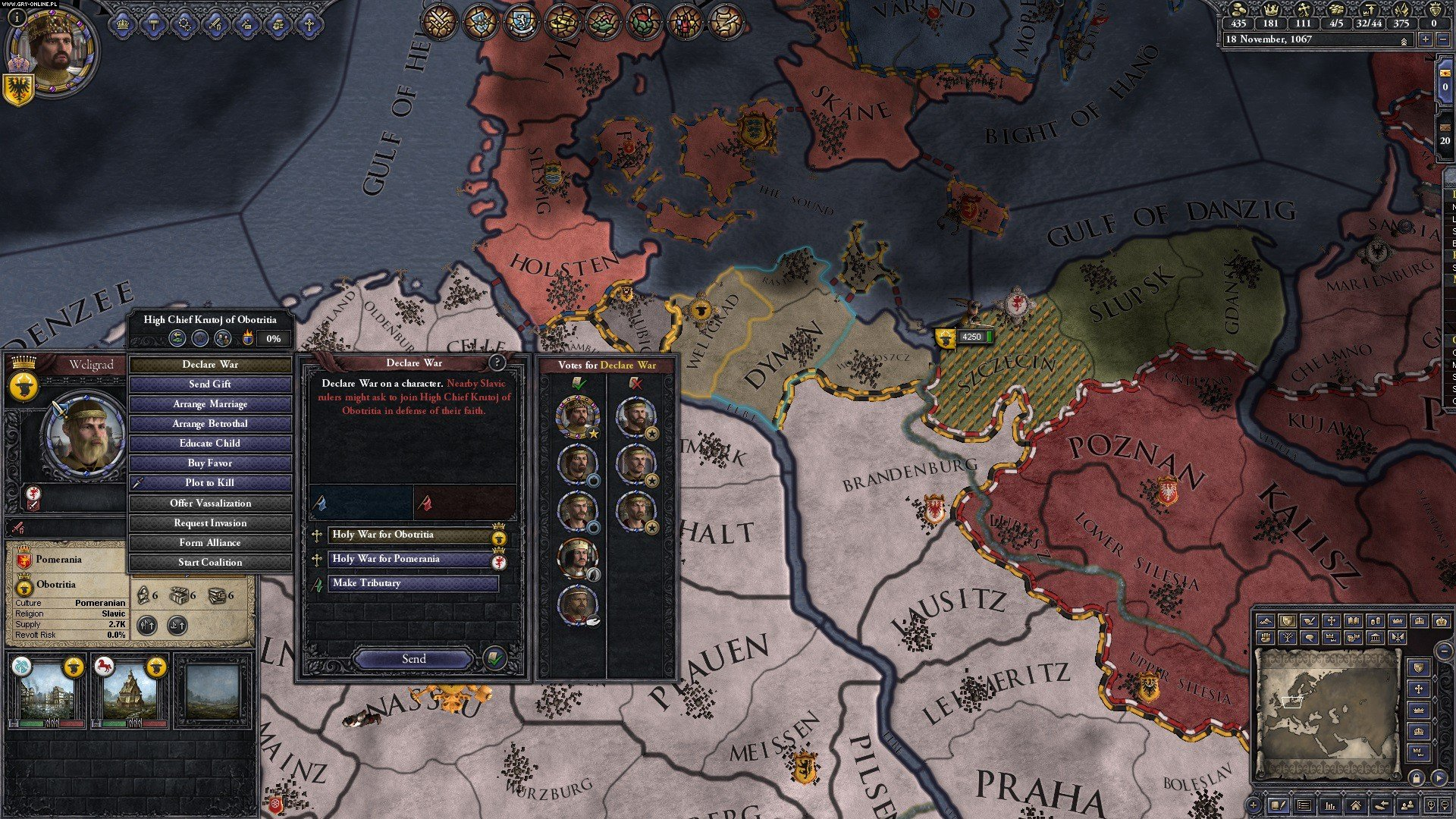 Crusader Kings II: Conclave PC Gry Screen 2/5, Paradox Development Studio, Paradox Interactive
