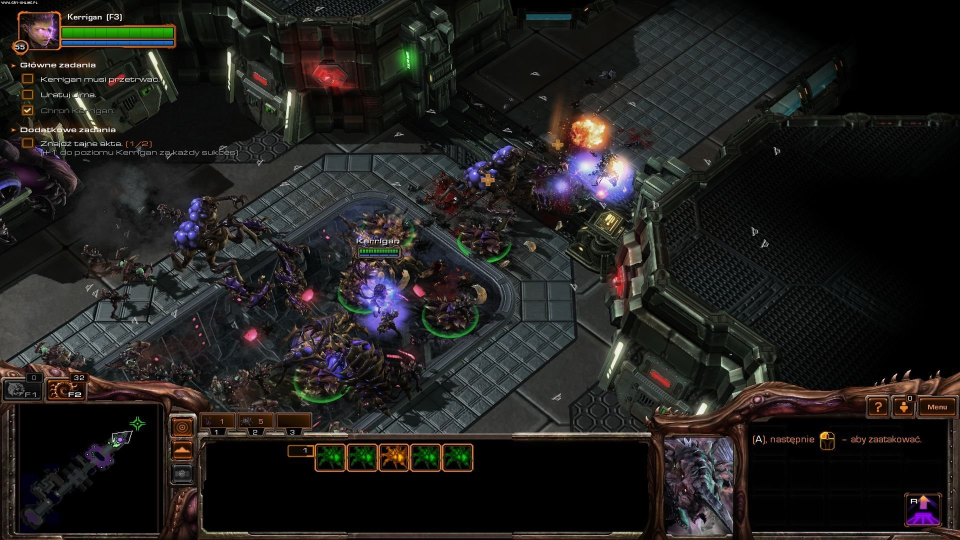 StarCraft II: Heart of the Swarm PC Gry Screen 5/199, Blizzard Entertainment