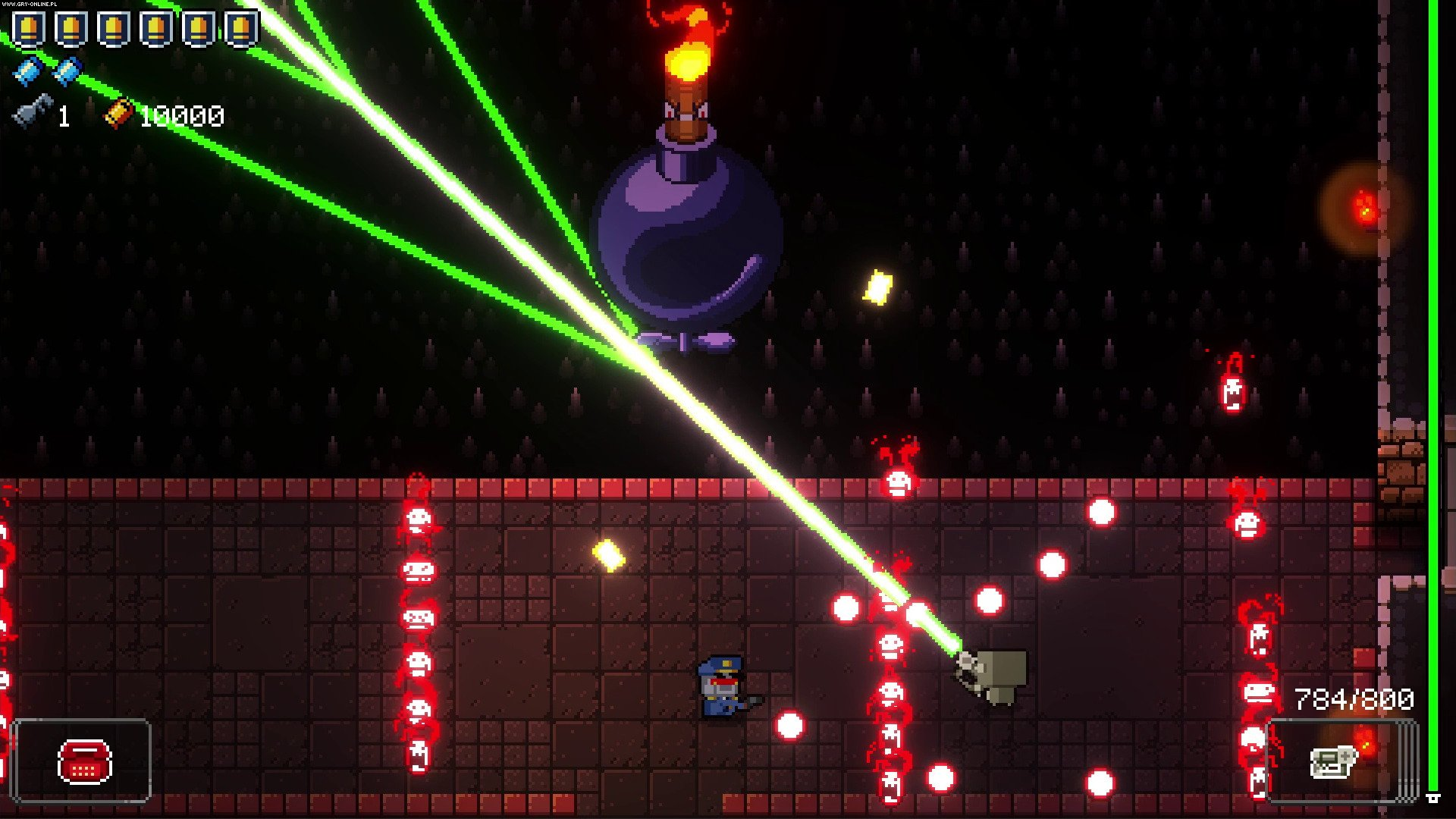 Enter the Gungeon PC, PS4, XONE, Switch Gry Screen 13/39, Dodge Roll, Devolver Digital
