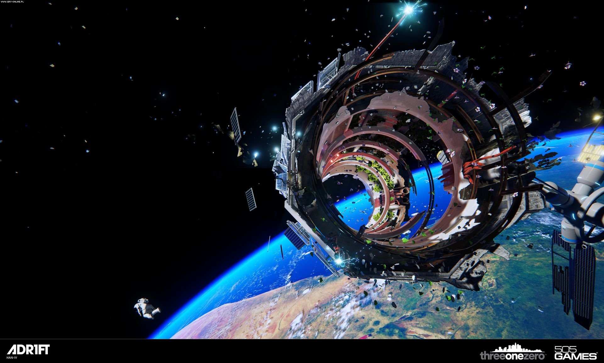 Adr1ft PC, PS4, XONE Gry Screen 11/22, Three One Zero, 505 Games