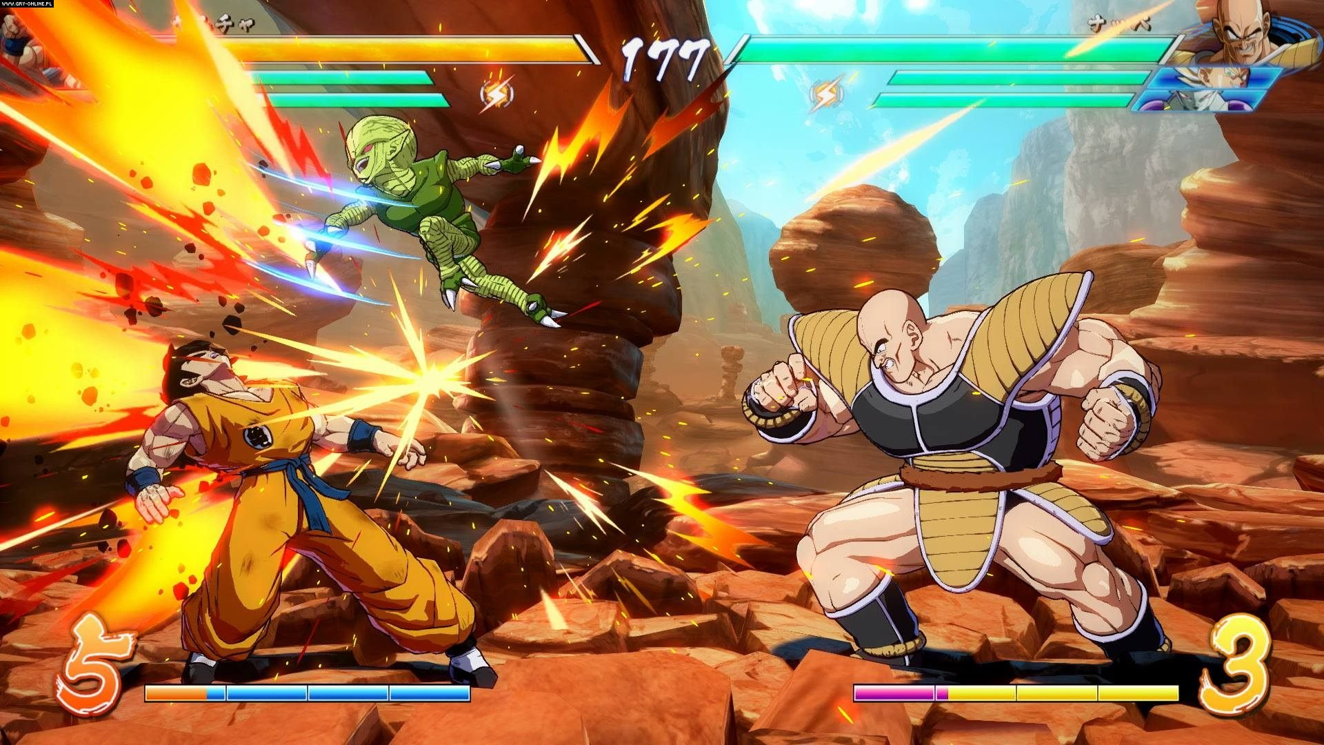 Dragon Ball FighterZ PC, PS4, XONE, Switch Gry Screen 167/230, Arc System Works, Bandai Namco Entertainment