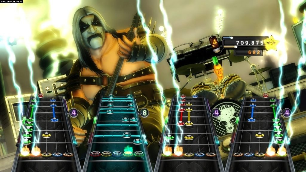 Guitar Hero: Warriors of Rock X360 Gry Screen 1/26, Neversoft Entertainment, Activision Blizzard