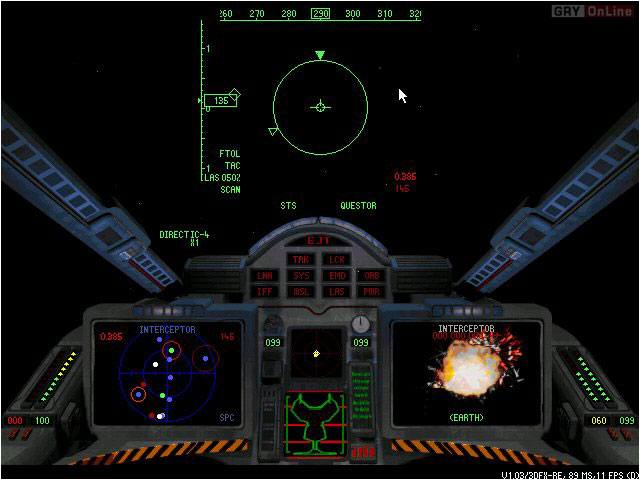 Battlecruiser 3000AD 2.0 PC Gry Screen 2/18, BC3000AD, Interplay Entertainment