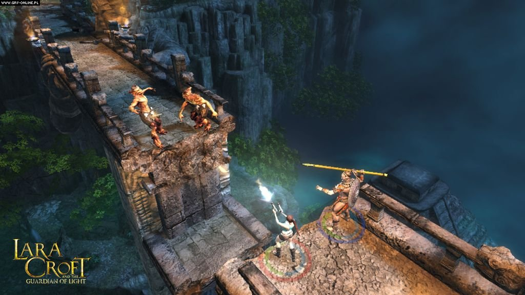Lara Croft and the Guardian of Light PC, WWW Gry Screen 48/49, Crystal Dynamics, Square-Enix / Eidos