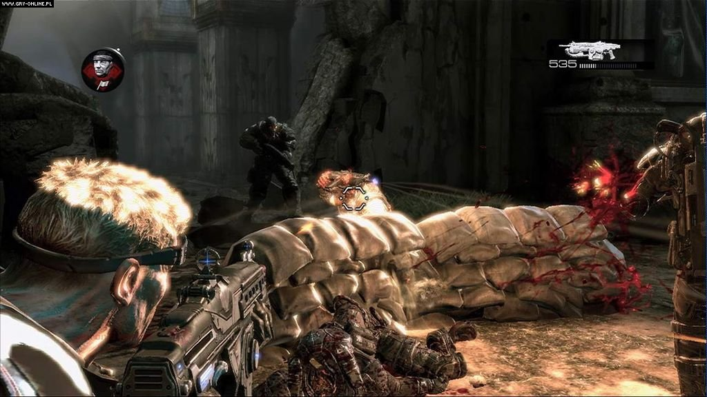 Gears of War 2: All Fronts Collection X360 Gry Screen 7/50, Epic Games, Xbox Game Studios / Microsoft Studios