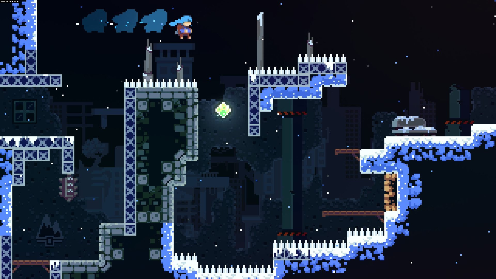 Celeste PC, PS4, XONE, Switch Gry Screen 2/24, Matt Makes Games / Extremely OK Games