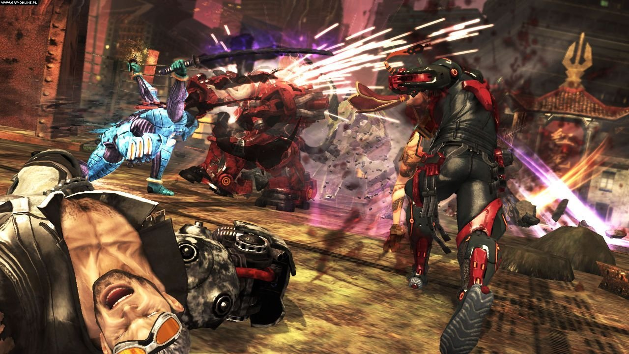 Anarchy Reigns X360, PS3 Gry Screen 21/82, PlatinumGames, SEGA