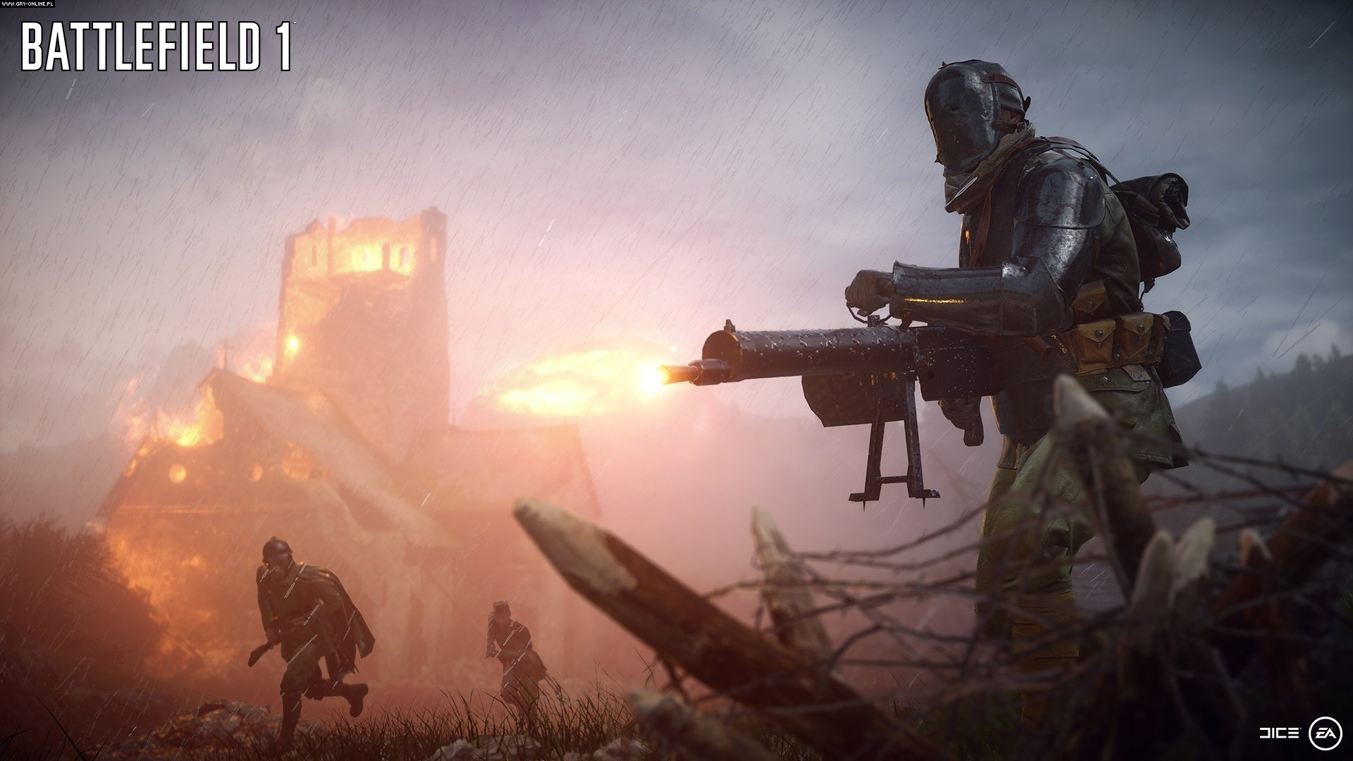 Battlefield 1 PC, PS4, XONE Gry Screen 55/111, EA DICE / Digital Illusions CE, Electronic Arts Inc.