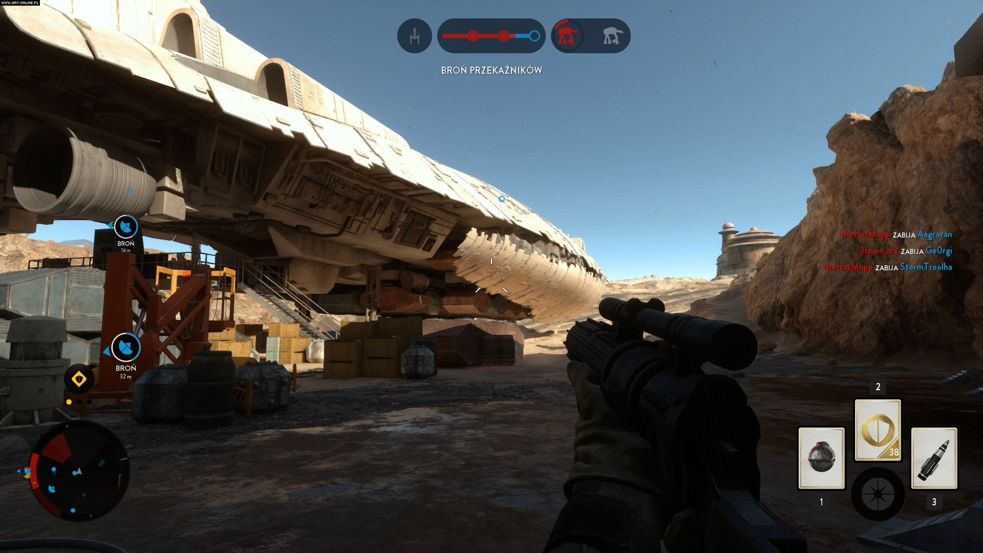 Star Wars: Battlefront PC Gry Screen 2/46, EA DICE / Digital Illusions CE, Electronic Arts Inc.
