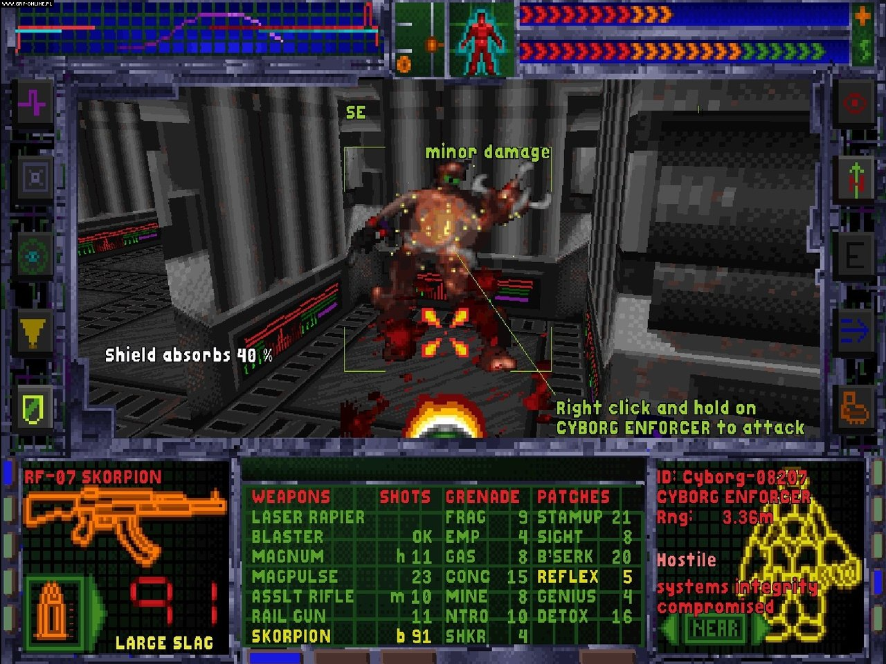 System Shock: Enhanced Edition PC Gry Screen 6/6, Nightdive Studios