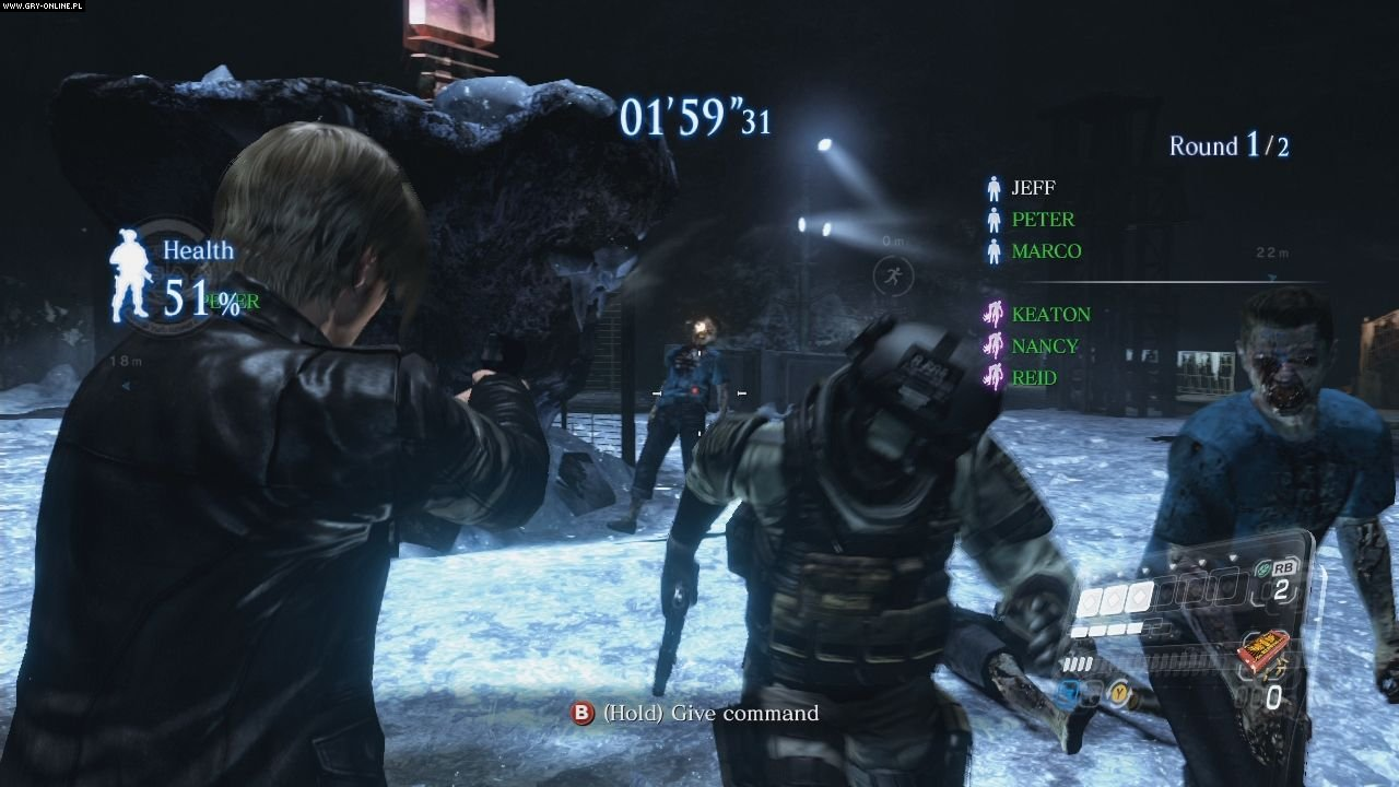 Resident Evil 6 PC, X360, PS3 Gry Screen 25/237, Capcom