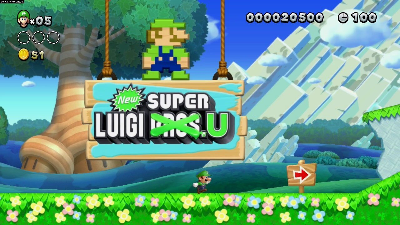 New Super Luigi U WiiU Gry Screen 5/10, Nintendo