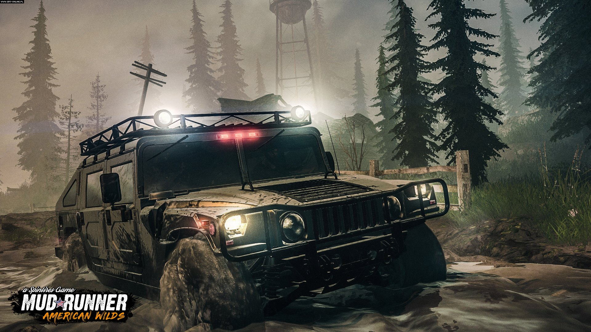 Spintires: MudRunner - American Wilds PC, PS4, XONE Gry Screen 2/3, Saber Interactive, Focus Home Interactive