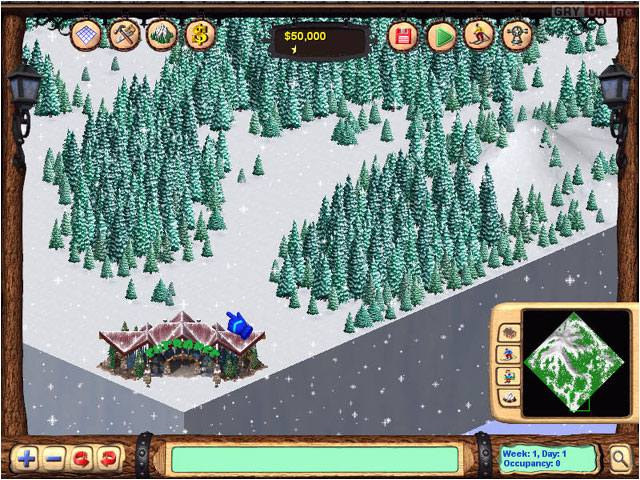 Ski Resort Tycoon II PC Gry Screen 6/6, Cat Daddy Games, LLC, Activision Blizzard