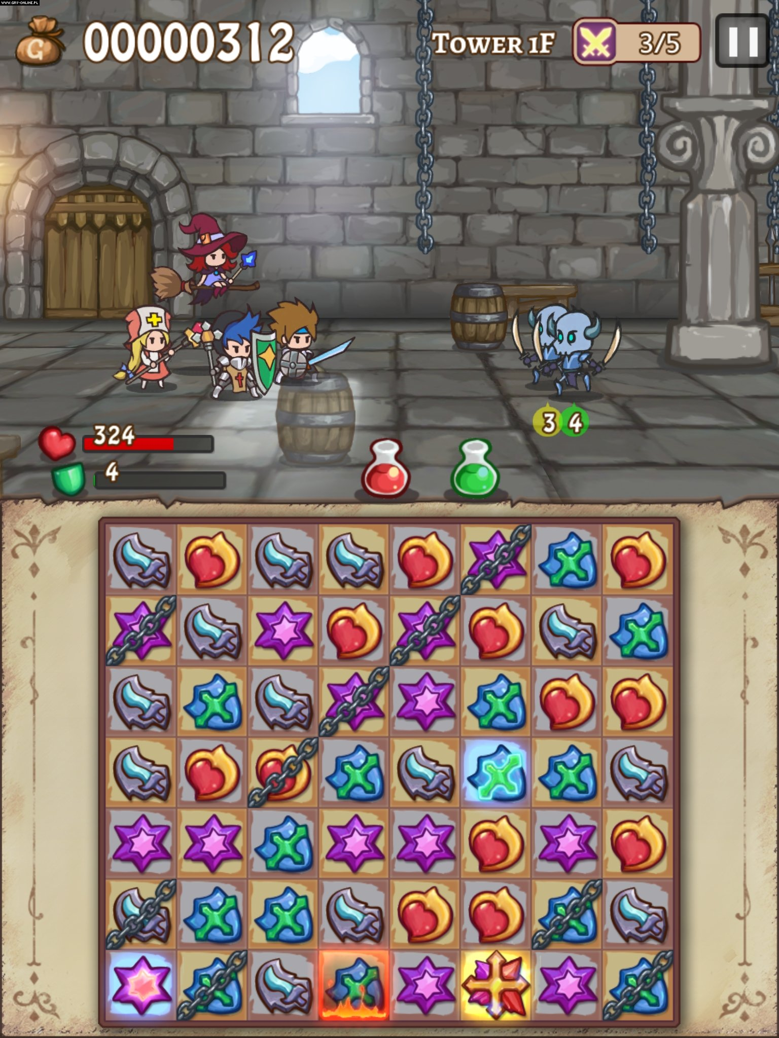 Hero Emblems iOS Gry Screen 7/7, HeatPot Games, Chun Lung Kuo
