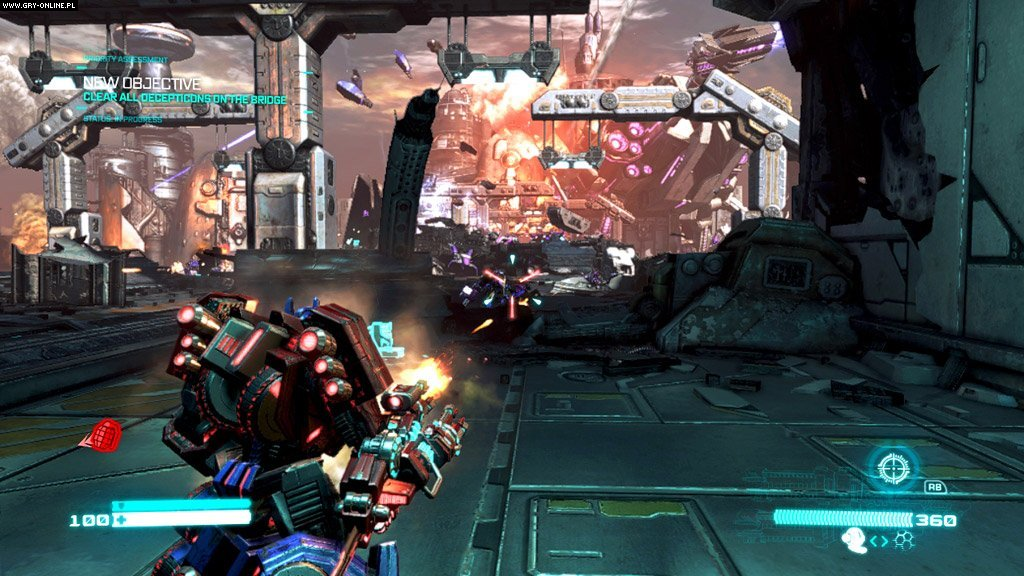Transformers: Upadek Cybertronu PC, X360, PS3 Gry Screen 37/136, High Moon Studios, Activision Blizzard