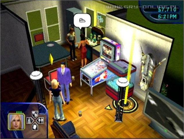 The Sims GCN Gry Screen 2/15, EA Maxis / Maxis Software, Electronic Arts Inc.