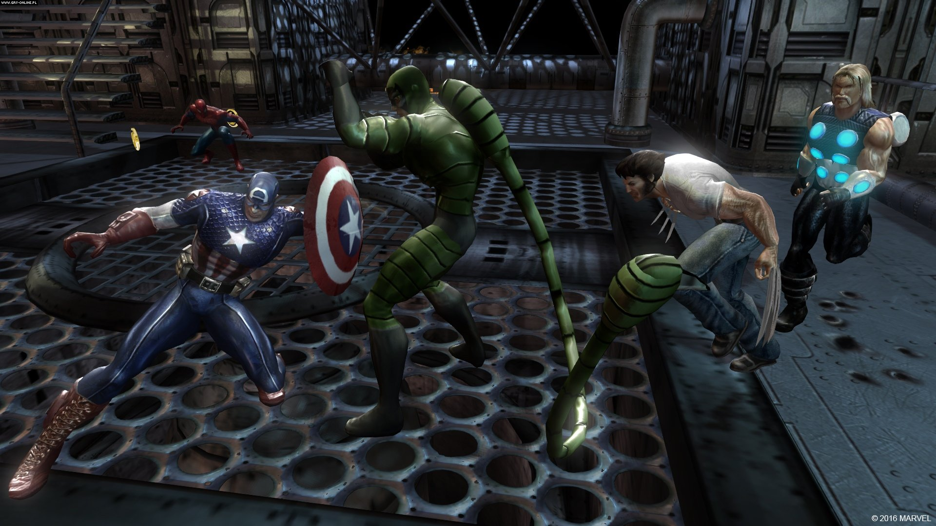 Marvel: Ultimate Alliance 2 PC, PS4, XONE Gry Screen 2/62, Vicarious Visions, Activision Blizzard