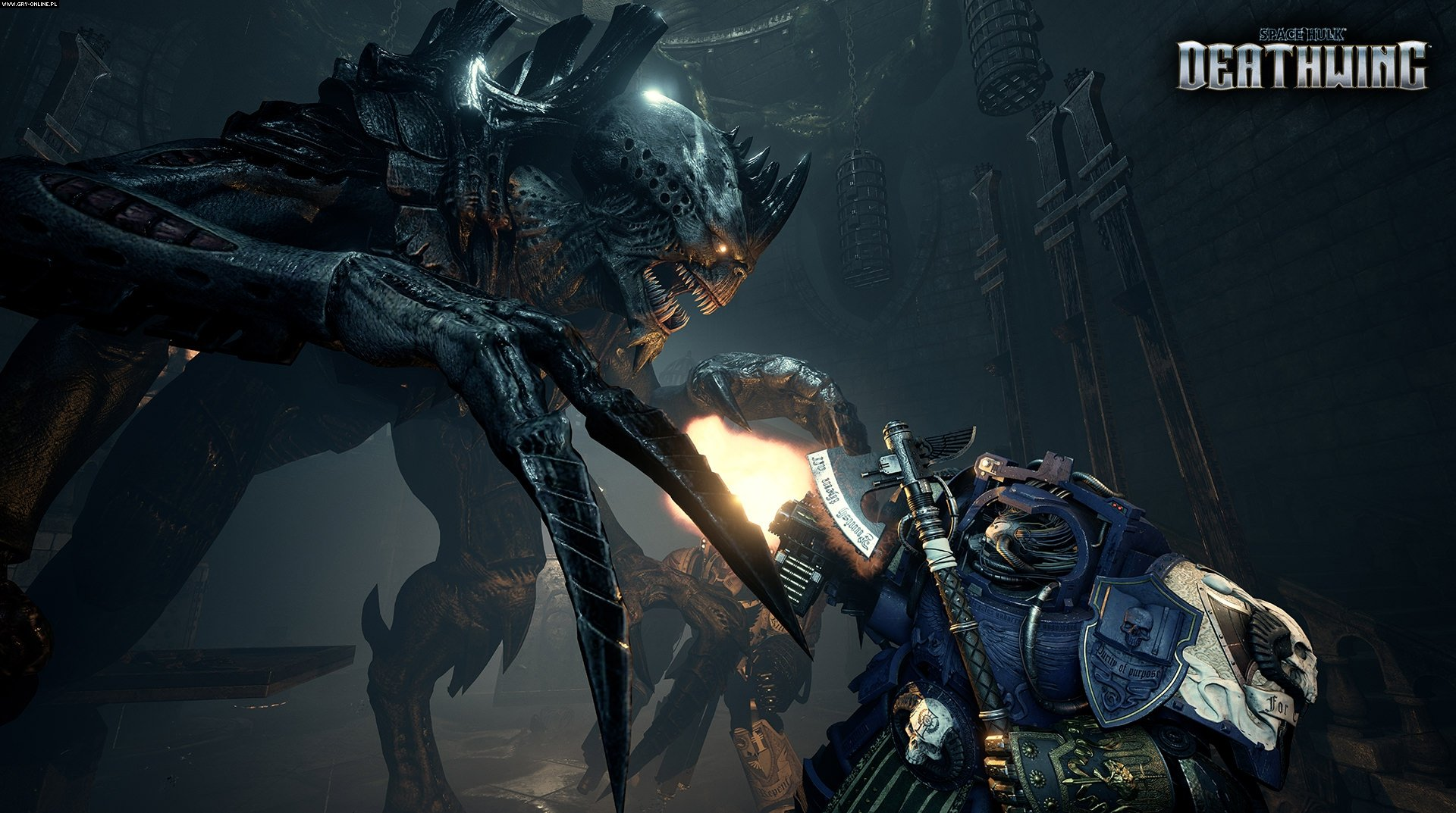 Space Hulk: Deathwing PC, PS4, XONE Gry Screen 9/30, Streum on Studio, Focus Home Interactive