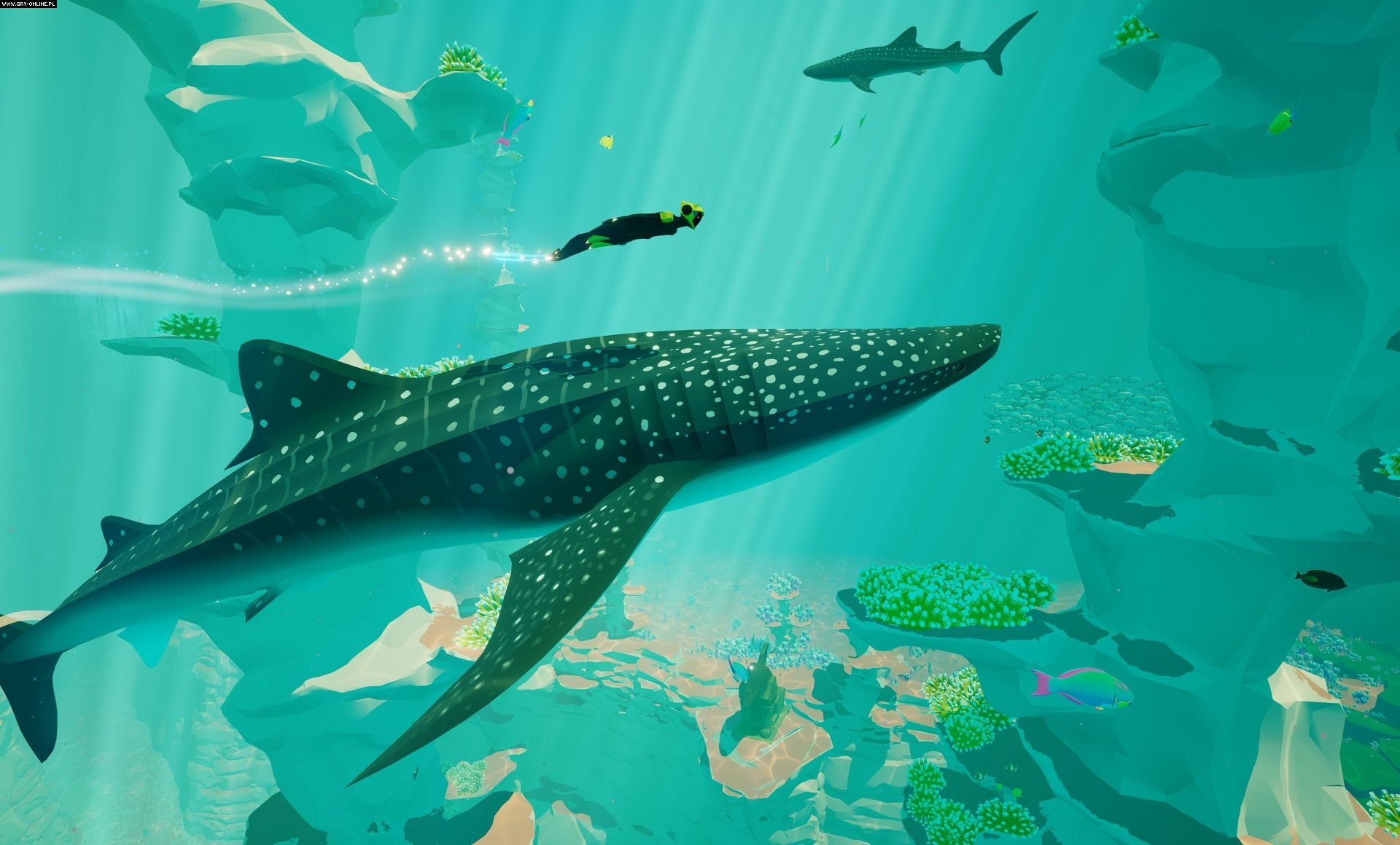 Abzu PC, PS4 Gry Screen 3/20, Giant Squid, 505 Games