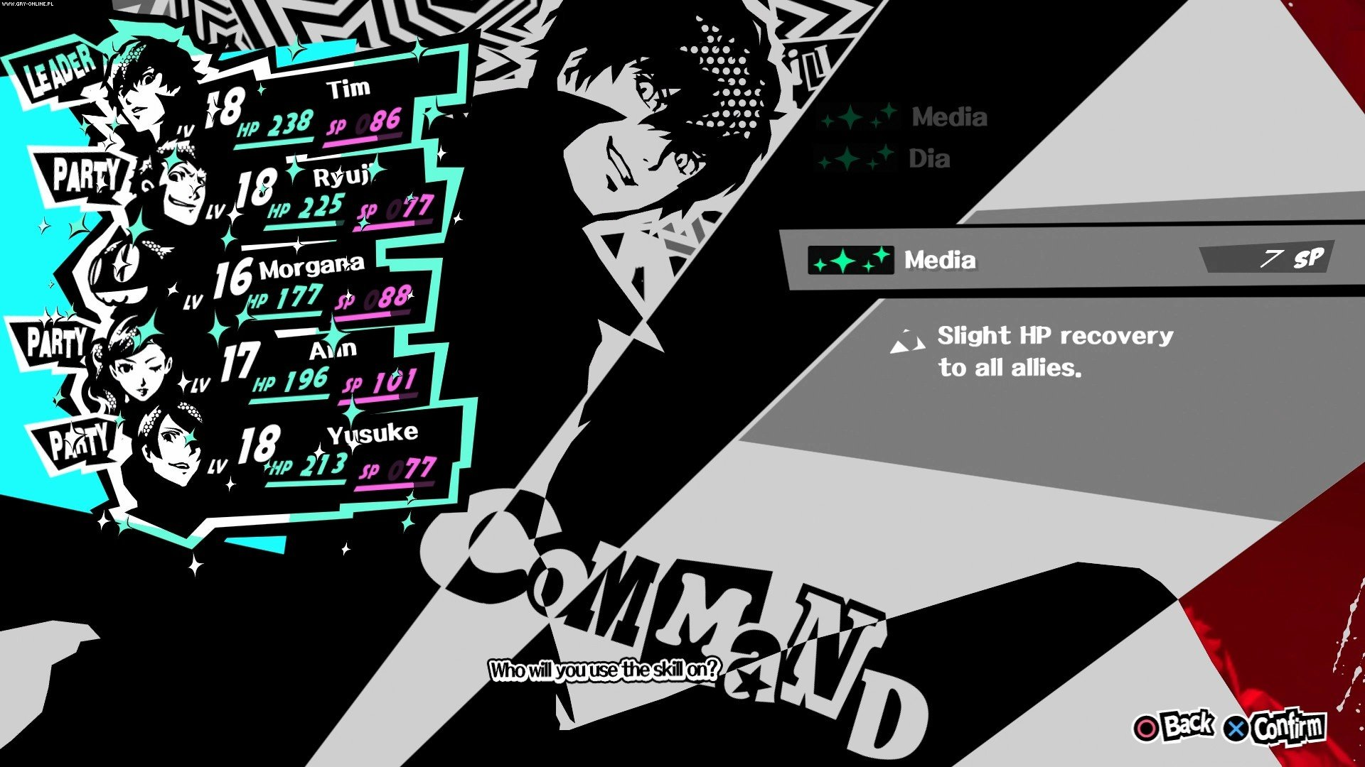 Persona 5 PS4 Gry Screen 5/71, Atlus, Deep Silver / Koch Media