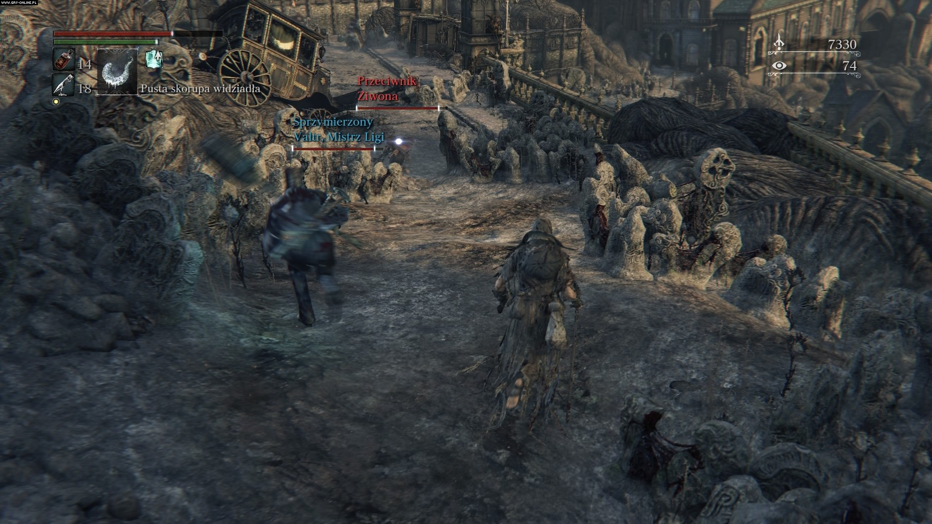 Bloodborne: The Old Hunters PS4 Gry Screen 5/50, FromSoftware, Sony Interactive Entertainment