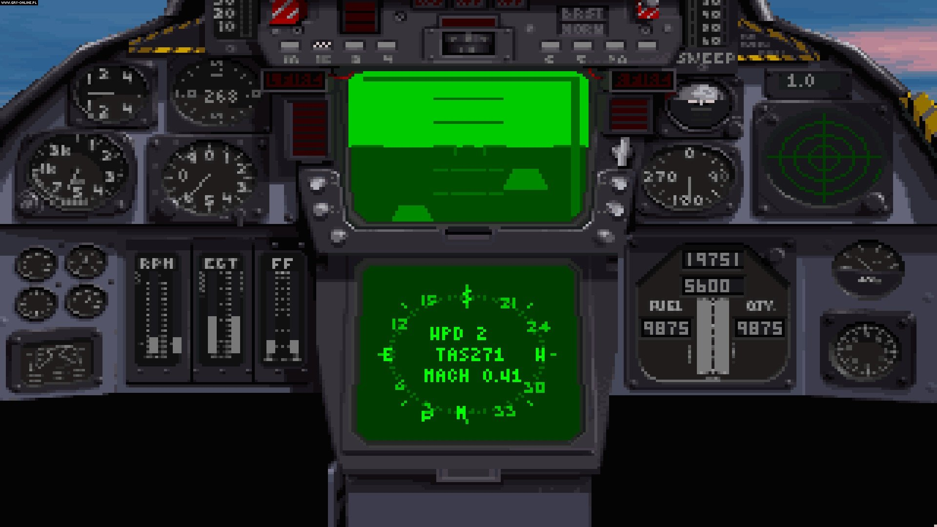 F-14 Fleet Defender PC Gry Screen 1/4, Microprose