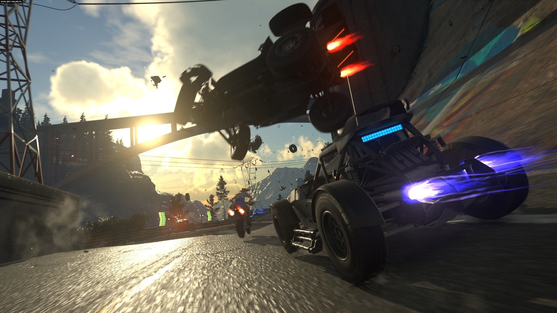 OnRush PC, PS4, XONE Gry Screen 10/60, Codemasters Software