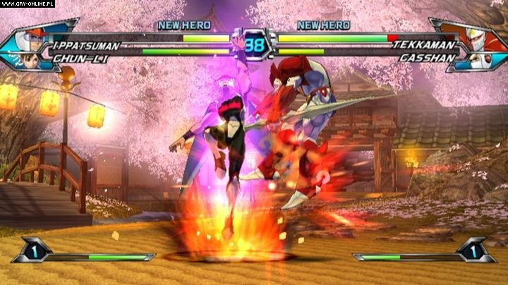 Tatsunoko vs. Capcom: Ultimate All Stars Wii Gry Screen 19/104, Eighting, Capcom