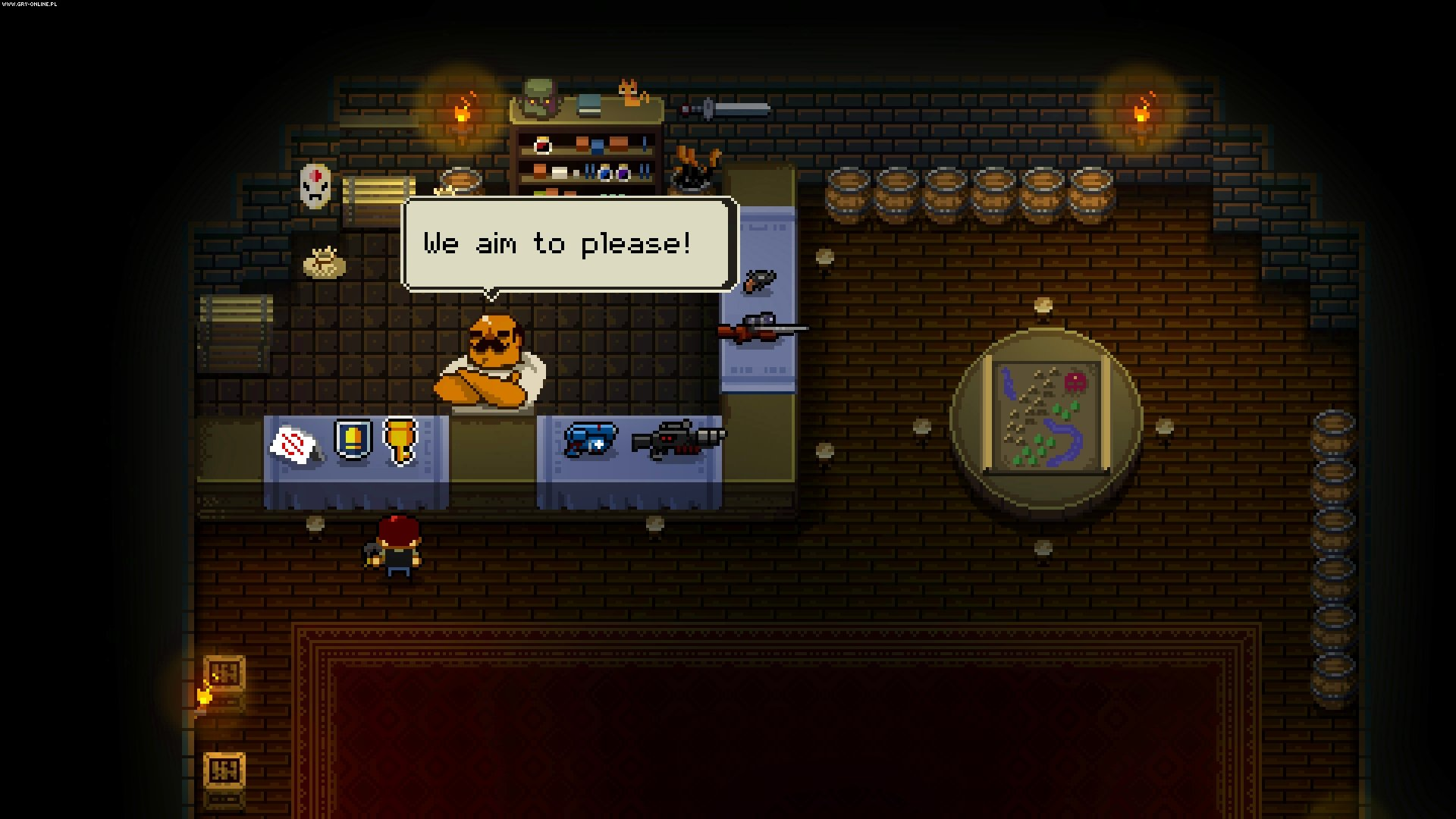 Enter the Gungeon PC, PS4, XONE, Switch Gry Screen 27/39, Dodge Roll, Devolver Digital