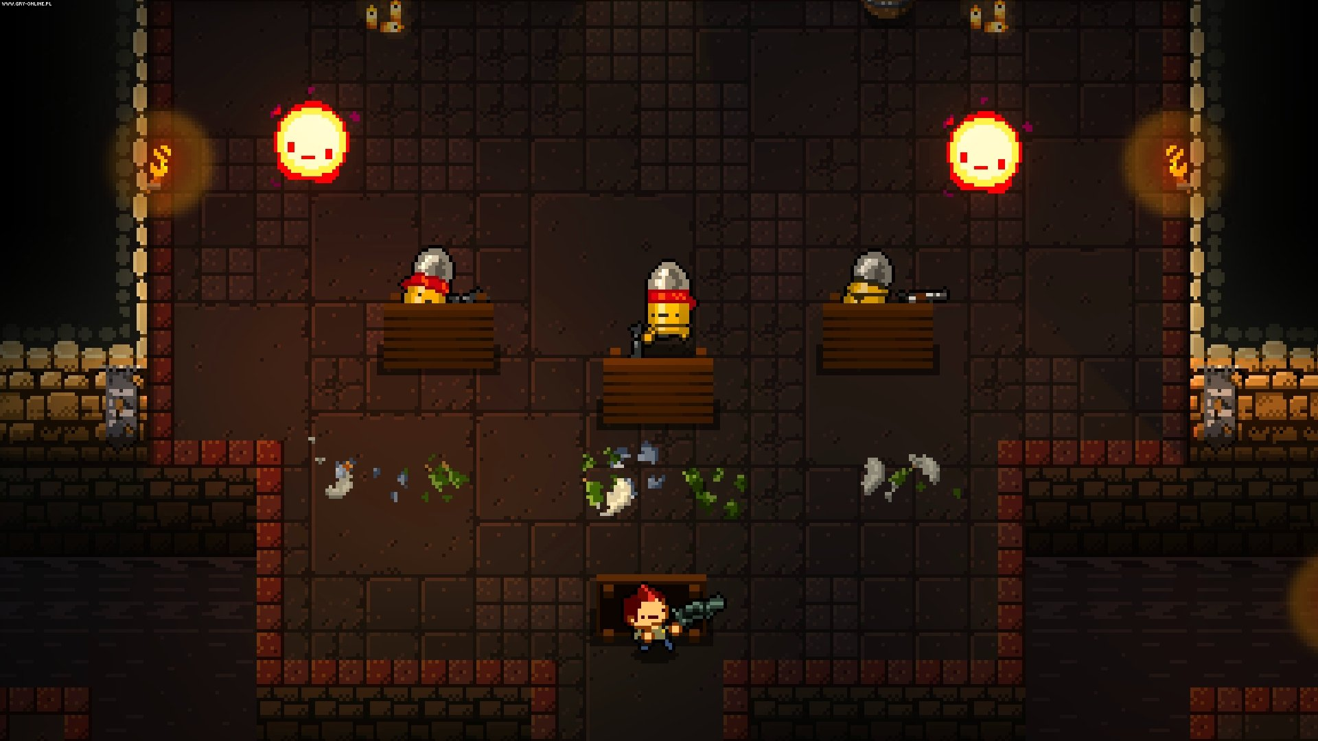 Enter the Gungeon PC, PS4, XONE, Switch Gry Screen 25/39, Dodge Roll, Devolver Digital