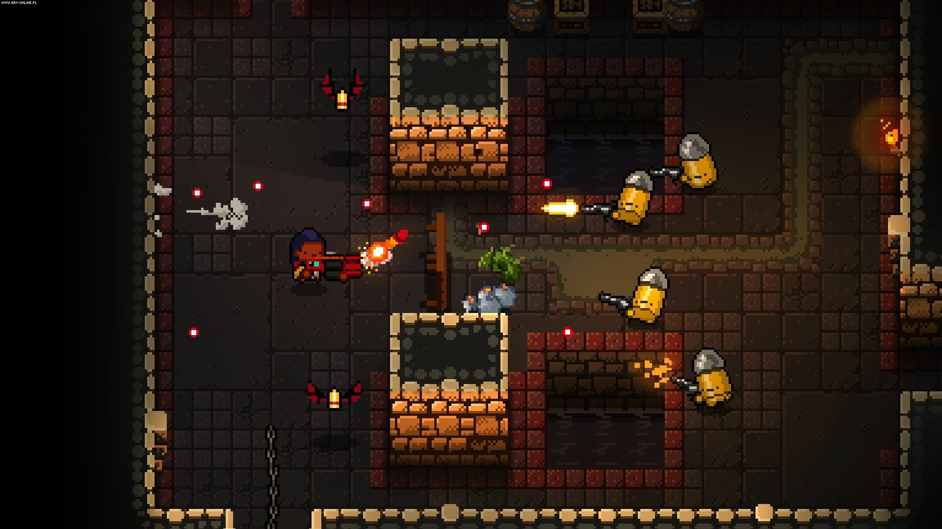 Enter the Gungeon PC, PS4, XONE, Switch Gry Screen 23/39, Dodge Roll, Devolver Digital