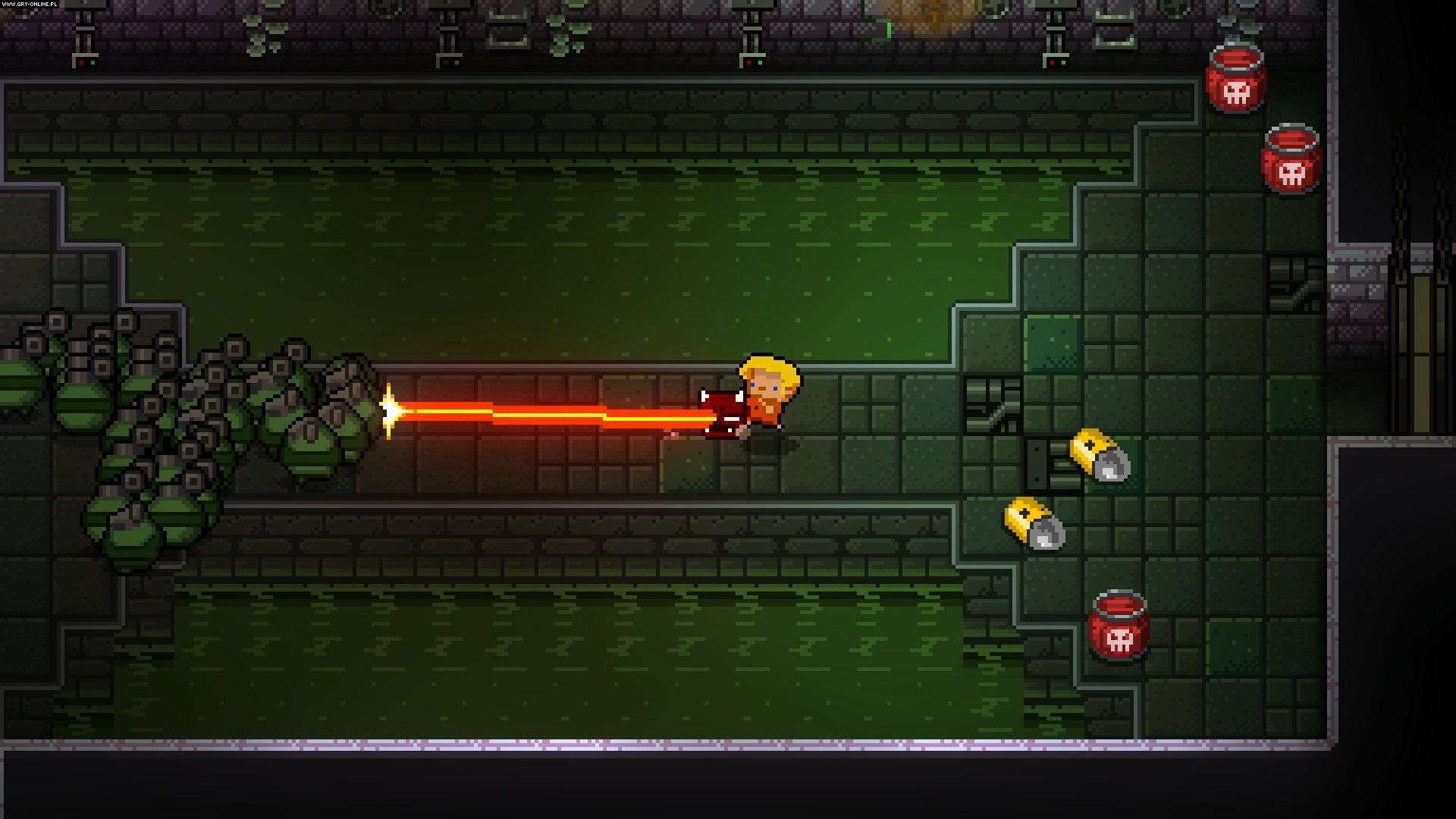 Enter the Gungeon PC, PS4, XONE, Switch Gry Screen 22/39, Dodge Roll, Devolver Digital